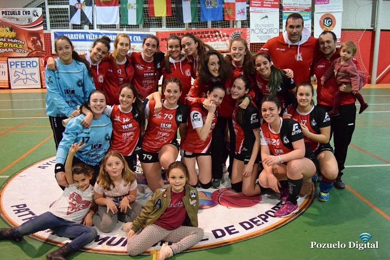 El BM Pozuelo de Calatrava Juvenil Femenino se proclama campeón de la liga 20162017
