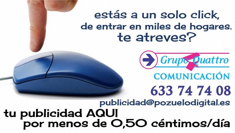 Estás a un solo click de entrar en miles de hogares... Te atreves? - www.pozuelodiital.es