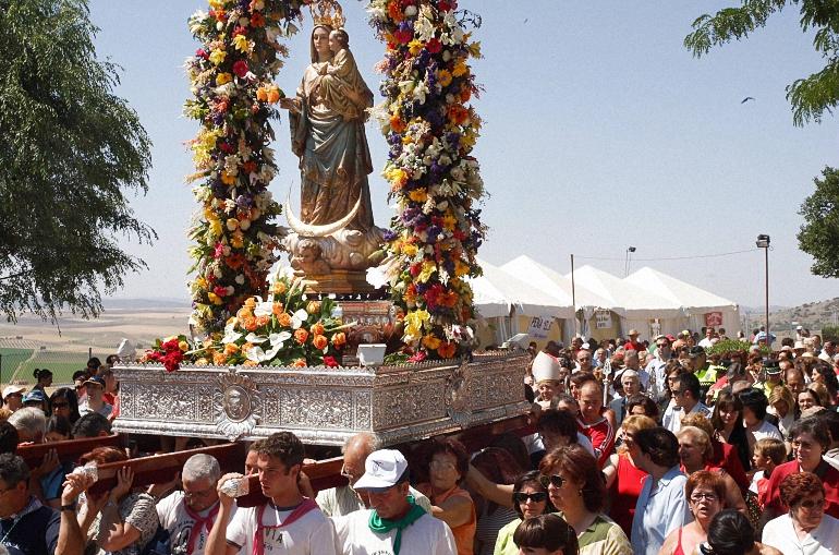 Ciudad Real celebra su romería en honor a la Virgen de Alarcos del 3 al 5 de junio