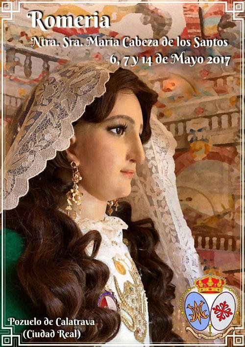Pozuelo de Calatrava celebra su tradicional Romeria en honor a su patrona la Virgen de los Santos