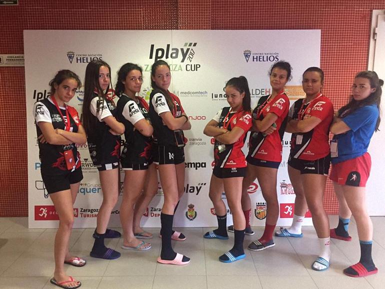 El BM Pozuelo de Calatrava consigue tres platas y dos bronces en la Iplay Zaragoza Cup