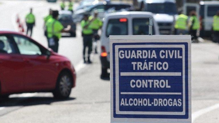 La Guardia Civil intensificará este fin de semana los controles de drogas y alcohol en todas las carreteras