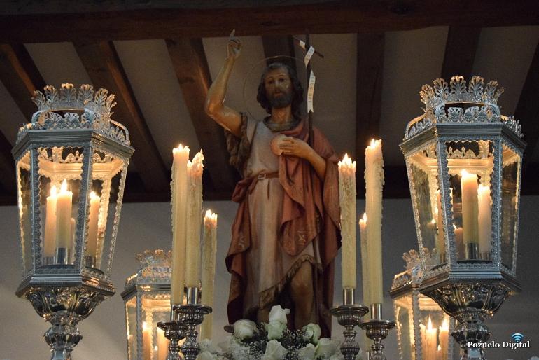 Pozuelo de Calatrava culminó con la procesión de San Juan las fiestas del patrón