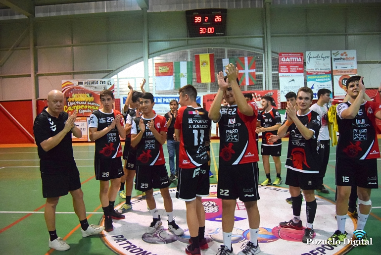 Los juveniles del Soliss BM Pozuelo suman su primera victoria en el arranque de la liga