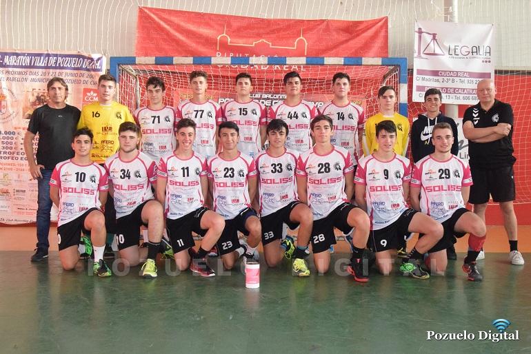 Los Juveniles del Soliss BM Pozuelo consolidan una jornada más su ascenso en la clasificación