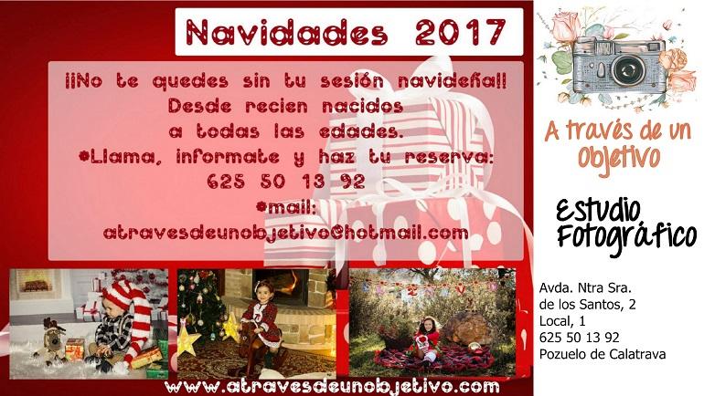 """Campaña de Navidad 2017 - Estudio Fotográfico """"A través de un Objetivo"""" - Pozuelo de Calatrava"""