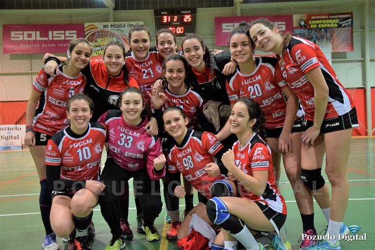 El Soliss BM Pozuelo sigue imparable en la liga de la División de Honor Plata Femenina