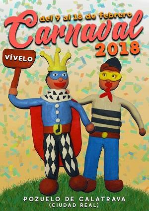 cartel carnaval Pozuelo de Calatrava