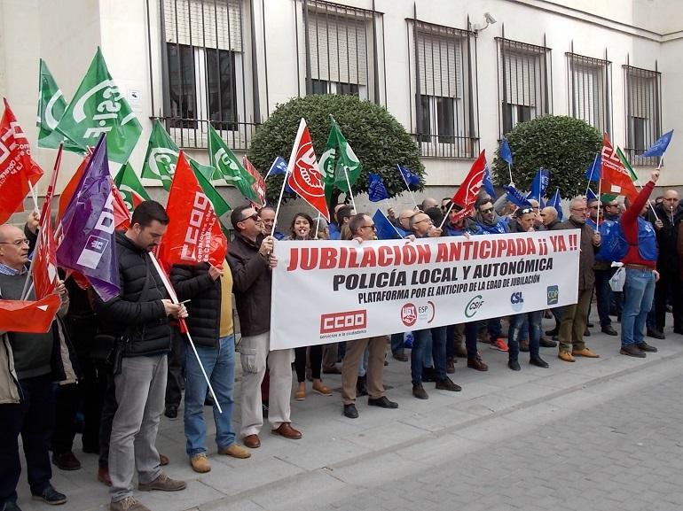 Ciudad Real El CSIF exige la jubilación anticipada de policías locales