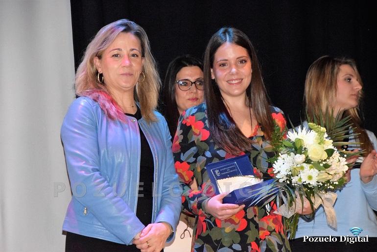 La jugadora del Almagro FSF recibe el Premio Magnolia 2018 a toda una trayectoria deportiva
