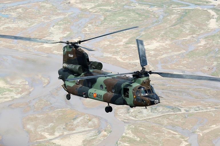 Almagro El BHELA I acoge estos días al contingente que partirá hacia Iraq para integrarse en la coalición internacional