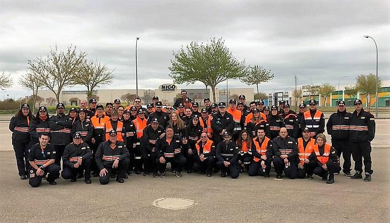 Sesenta voluntarios de 14 Agrupaciones de la provincia realizan el Curso Básico de Voluntarios de Protección Civil