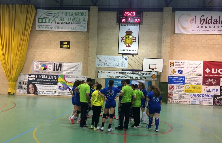 BM Manzanares vs BM Gijón