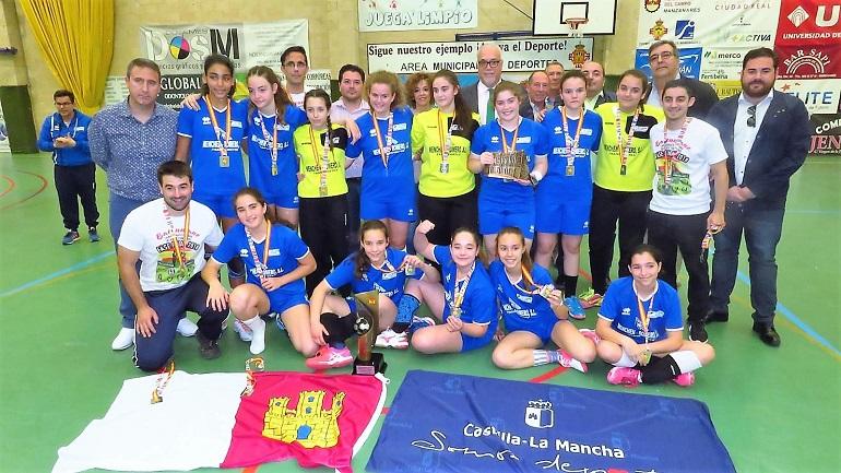 El BM Manzanares subcampeón de España en la categoría Infantil Femenino