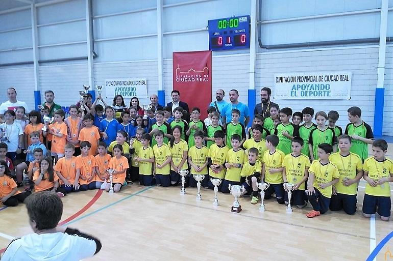 Valenzuela de Calatrava acogió la fase final de las competiciones multideporte de la Diputación Provincial
