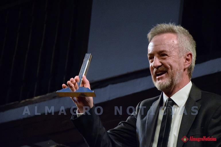 Almagro El actor Carlos Hipólito recibe el 18 Premio Corral de Comedias con el que se inaugura el Festival Internacional de Teatro Clásico