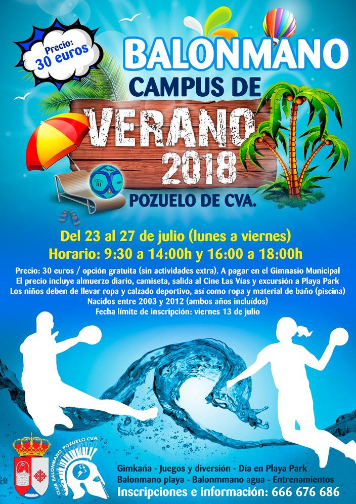 Campus de Verano 2018 BM Pozuelo