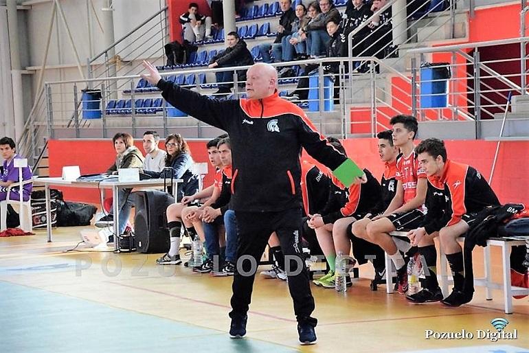 Carlos Martínez será el técnico que diriga el conjunto senior masculino del Soliss BM Pozuelo