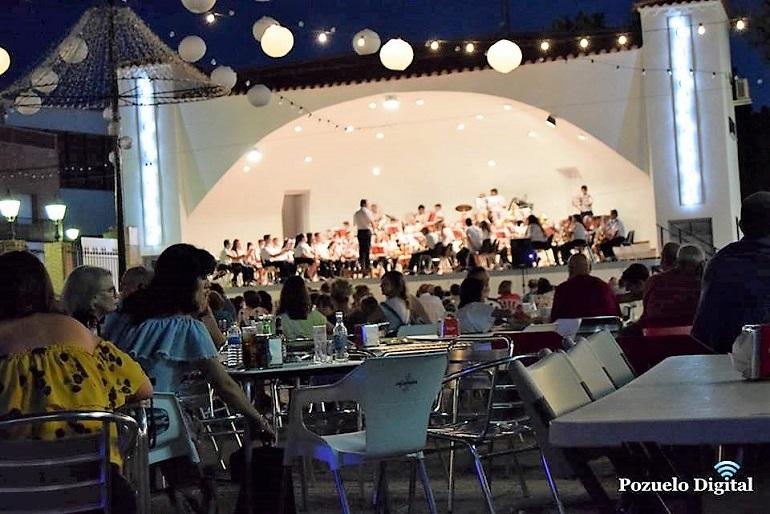 Encuentro de Bandas de Música en Pozuelo de Calatrava