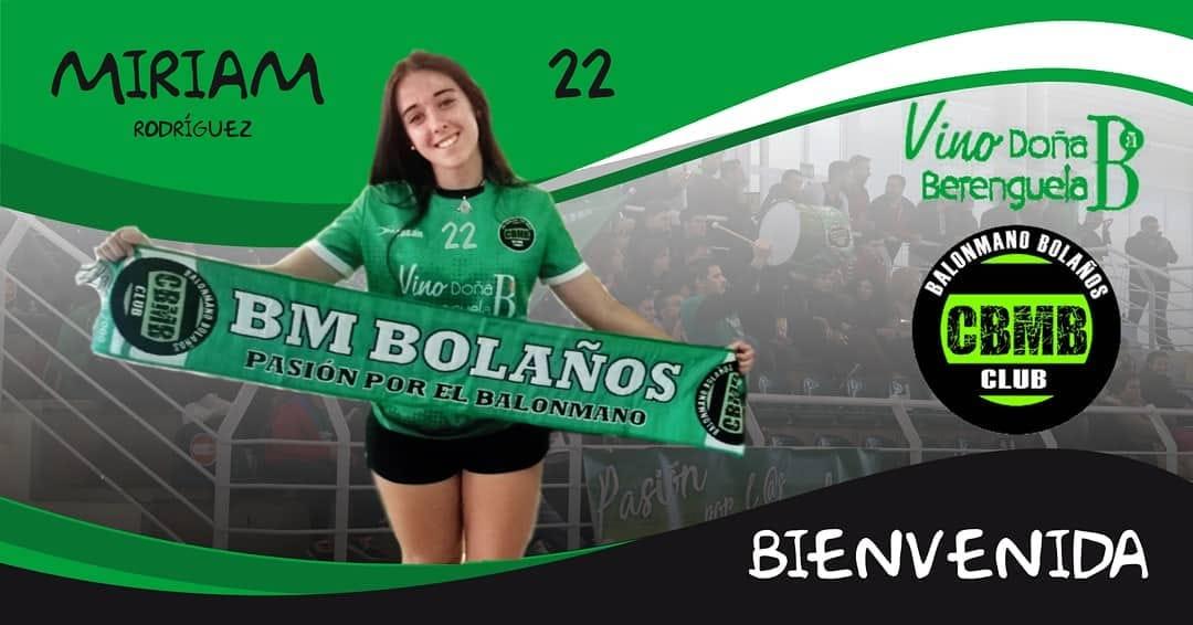 Miriam Rodriguez-Madridejos portera del BM Bolaños