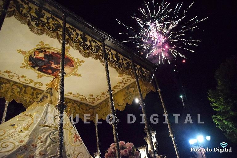 Pozuelo de Calatrava rindió culto a la Virgen del Carmen en el día grande de sus Feria y Fiestas 2018