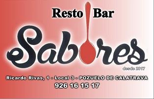Resto Bar SABORES - Ricardo Rivas, 1 -  POZUELO DE CALATRAVA