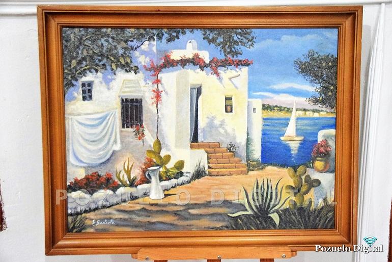 Pintura de Emilio Bastante Juárez