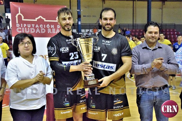 El Alarcos Ciudad Real se lleva el Trofeo Diputación de Balonmano frente a un Caserio que lo dió todo sobre la cancha