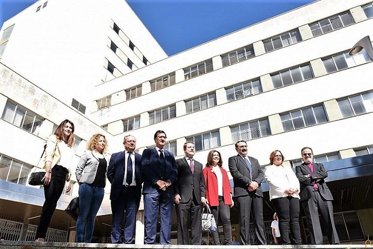 El Hospital del Carmen sera un edificio único de servicios públicos de la Junta de Comunidades