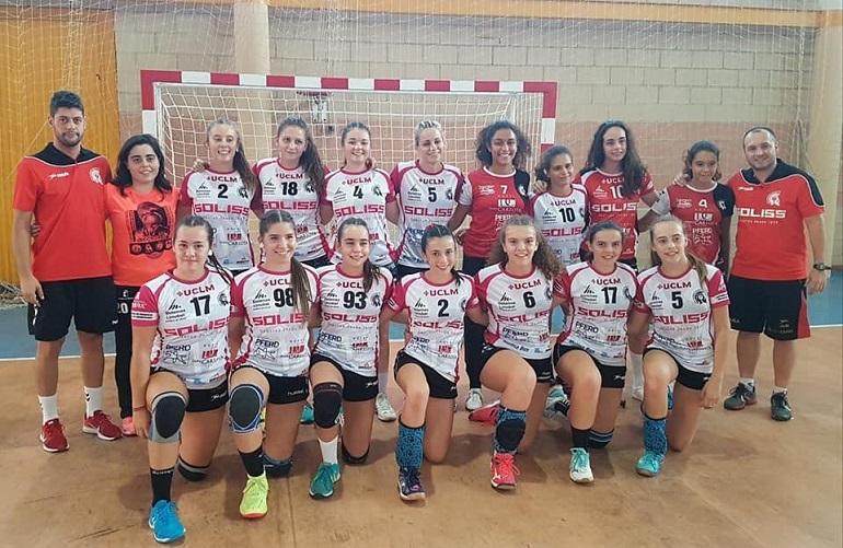 El Soliss BM Pozuelo juvenil femenino se mete en la final del Trofeo Diputación tras vencer al Deportivo Retamar CB