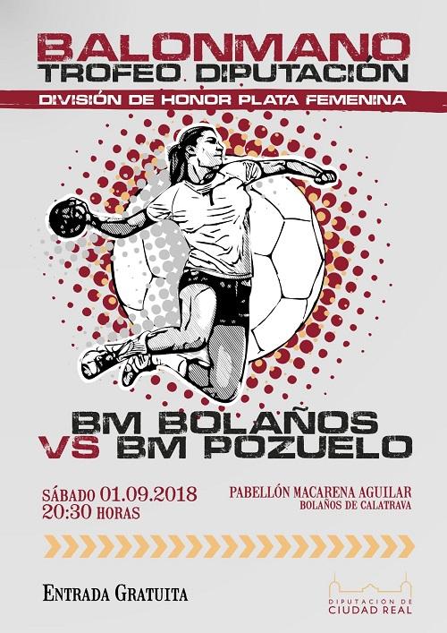 Final Trofeo Diptuación de Balonmano 2018