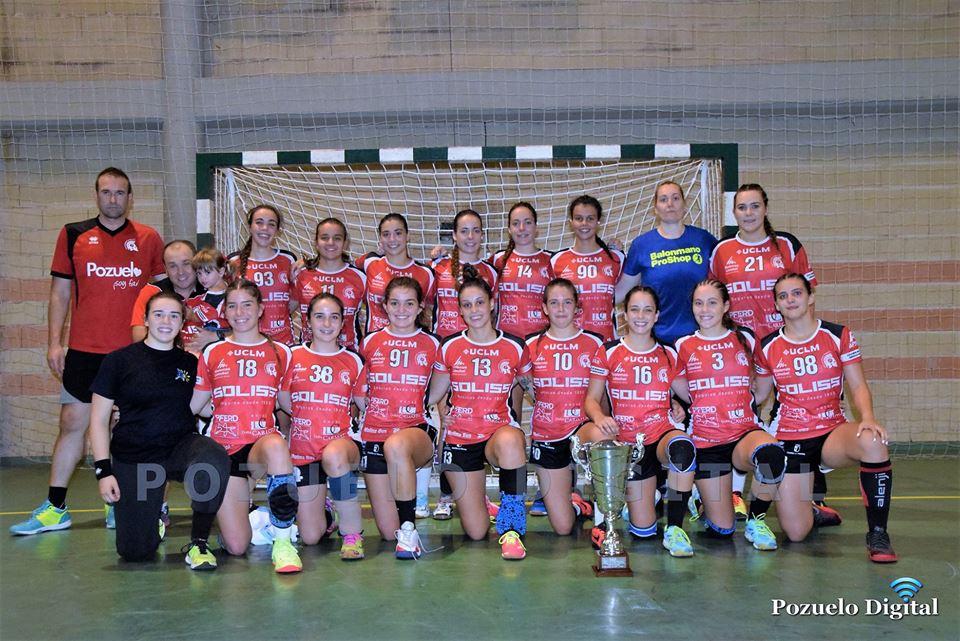 Soliss BM Pozuelo subcampeonas del Trofeo Diputacion de Ciudad Real