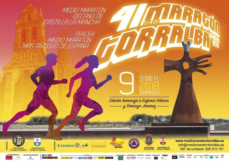 Torralba de Calatrava cumple la 41 Edición de la Media Maratón Ciudad Real-Torralba de Calatrava