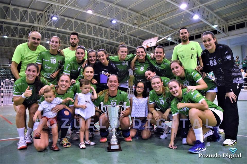 Vino Doña Berenguela BM Bolaños campeona del Trofeo Diputación de Ciudad Real
