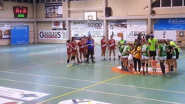 Vino Doña Berenguela BM Bolaños vs BM Base Villaverde Madrid