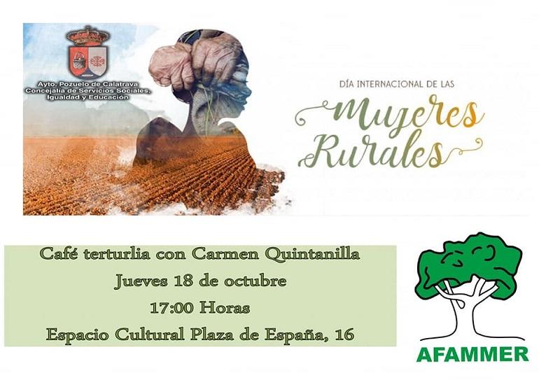 AFAMMER en el Día Internacional de la Mujer Rural en Pozuelo de Calatrava