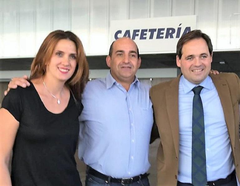 Los Populares de Pozuelo de Calatrava con Francisc Núñez