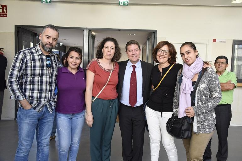 Miguelturra inaugura oficialmente el colegio de Educación Infantil y Primaria Número 5 con la asistencia del presidente de la Junta de Comunidades