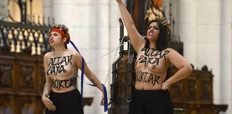 La Foto del Día El delito contra los sentimientos religiosos sale gratis en España