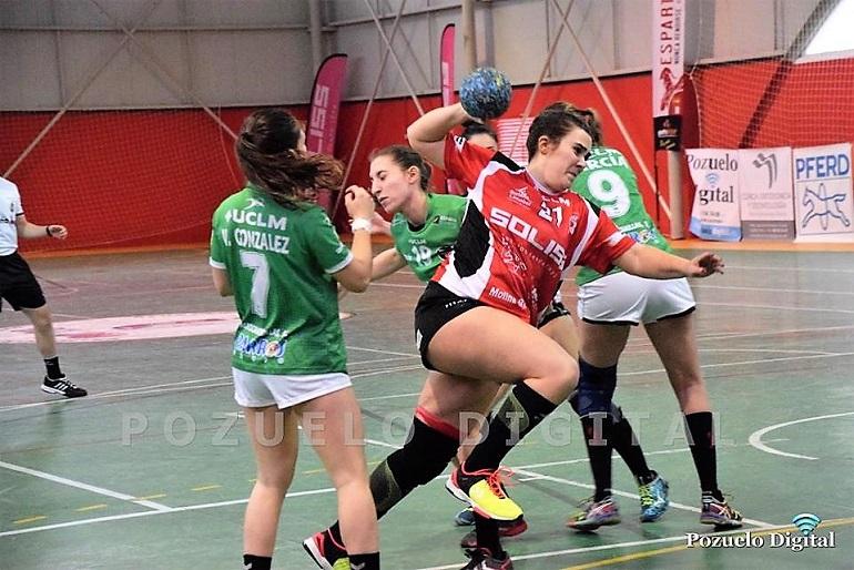 El Soliss BM Pozuelo cierra la primera vuelta de la liga con el derby regional frente al BM Bolaños en el Pabellón Municipal Las Espartanas