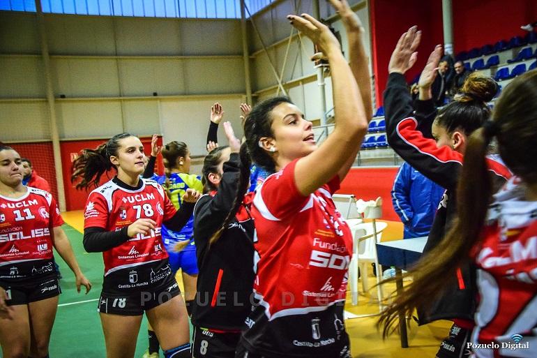 Importantísima victoria del Soliss BM Pozuelo frente al Málaga Norte que le hace seguir en la pomada de la clasificación