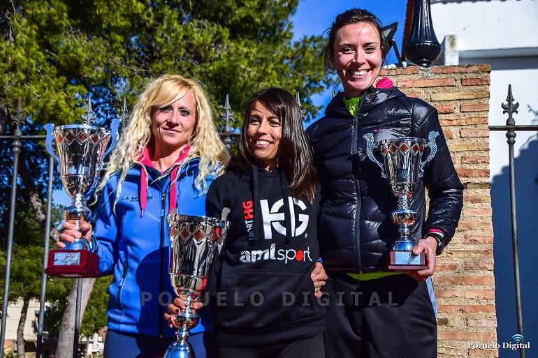 Pozuelo de Calatrava Gemma Arenas y Alfonso Navarro se alzan con el podium de la IV Carrera de Año Nuevo