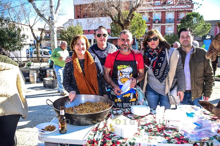 Todo un éxito de las Migas Solidarias organizadas por el PSOE de Pozuelo de Calatrava