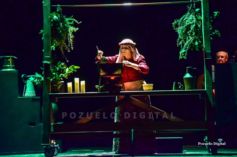 Pozuelo de Calatrava Espectacular puesta en escena del musical La Celestina de la compañía Molto Vivace