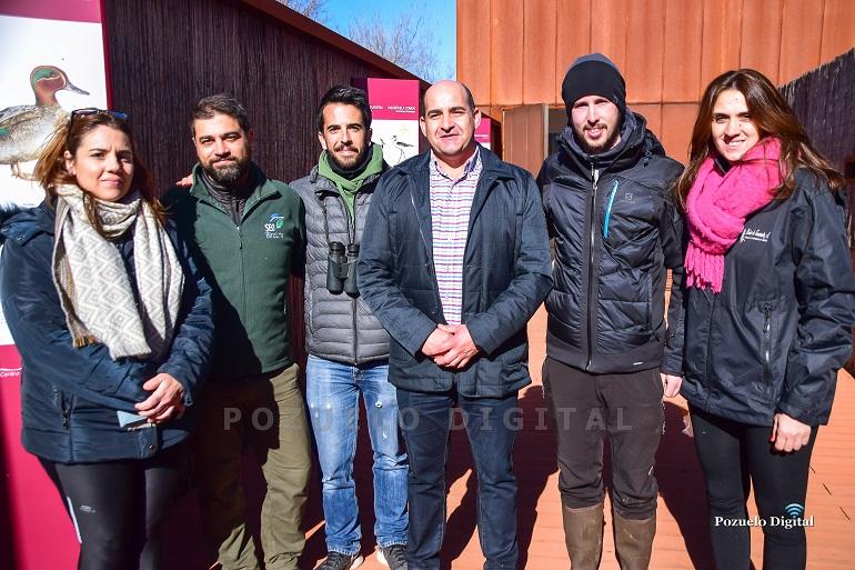 """Pozuelo de Calatrava celebró el """"Día Mundial de los Humedales"""" con un anillamiento de aves en """"La Inesperada"""""""