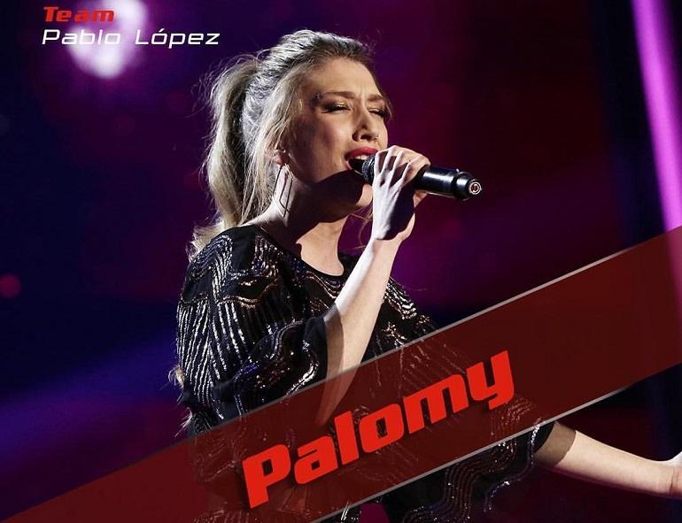 Palomy peses a inundarnos de sentimientos con su versión de La fuerza del corazón de Alejando Sanz, no pasó el corte a semifinales