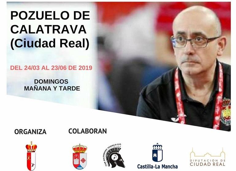 Pozuelo de Calatrava celebra en los próximos meses el Curso de Entrenador Territorial de Balonmano Nivel 2