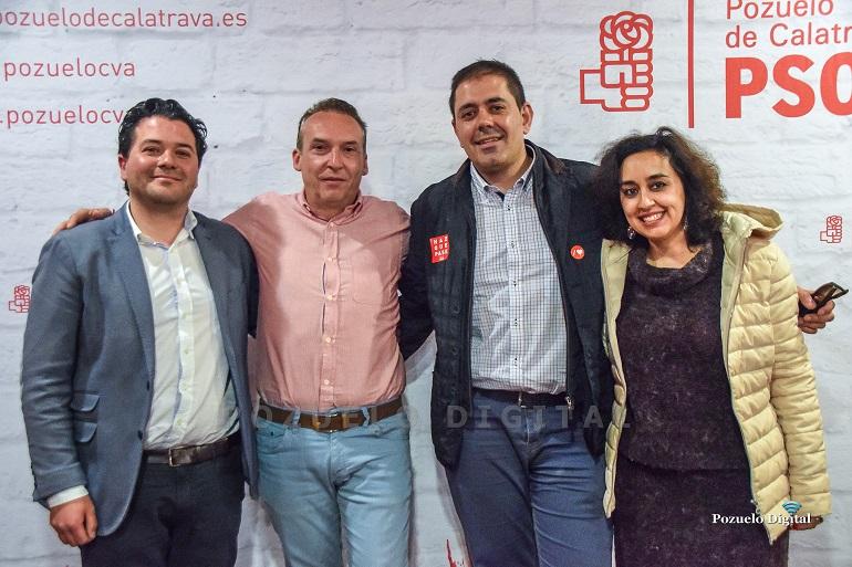 Bolaños valora en Pozuelo que el voto al PSOE se traduce en la subida de las pensiones y del salario mínimo