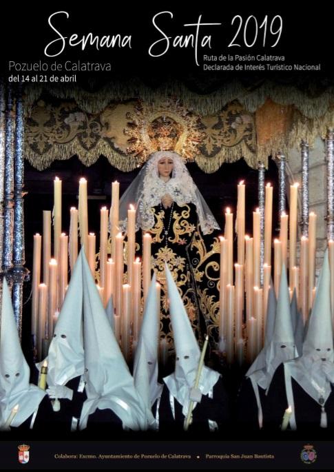 Cartel Semana Santa 2019 Cofradia Ntra. Sra. de la Soledad