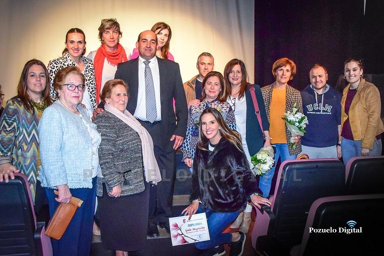 """La II Edición de los """"Premios Magnolia"""" homenajeó a la mujer pozueleña en los diferentes ámbitos empresarial, profesional, social y deportivos"""